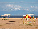 The Issyk-Kul lake