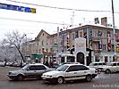 Перекресток ул.Усенбаева (прямо) и пр.Чуй.