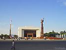 Центральная площадь. Музей В.И.Ленина