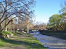 Река Ала-Арча весной