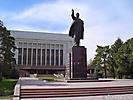 Памятник В.И.Ленину в Бишкеке